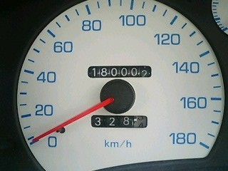 180,000km......